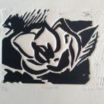"""Íñigo de las Cuevas Amillano """"Magnolia"""" Grabado"""