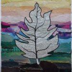 """David Espinel""""La hoja""""Collage"""