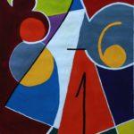 """David Espinel""""Del 1 al 91""""Gouache"""